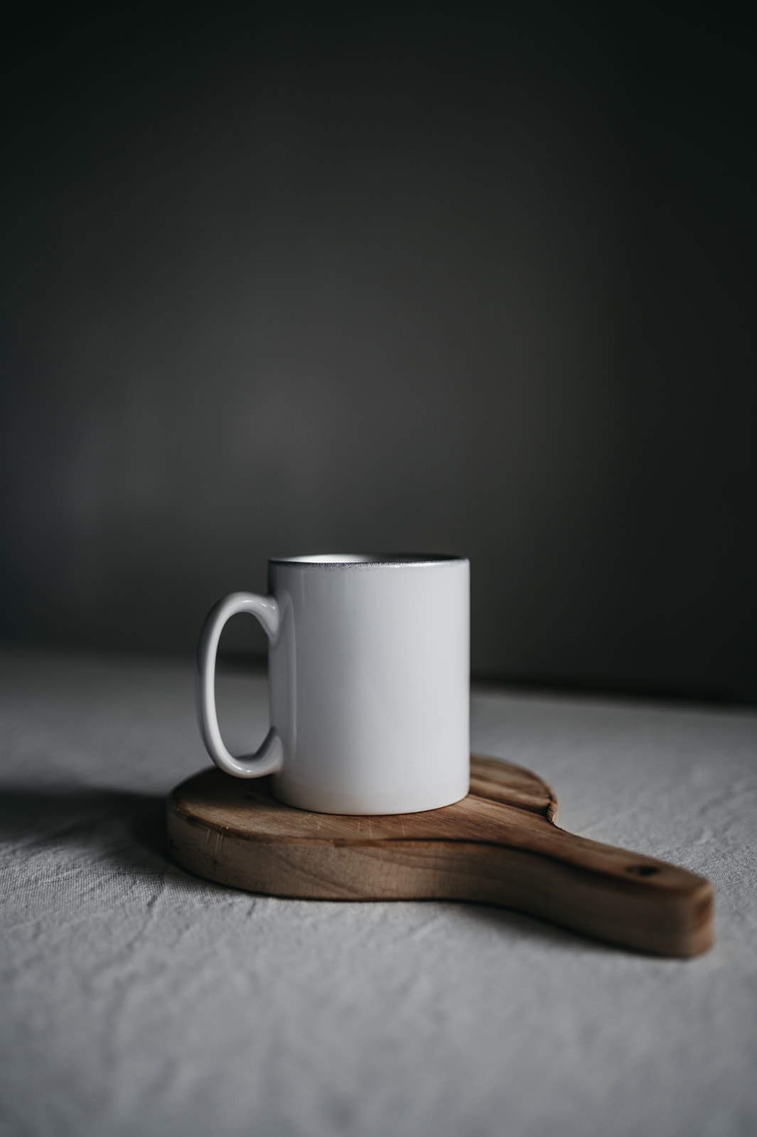 Taza Con Interior Plata