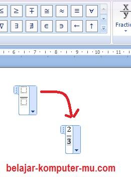 Cara Menulis Rumus Matematika Di Word : menulis, rumus, matematika, Menulis, Rumus, Matematika, Microsoft, Belajar, Komputer