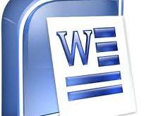Data File Microsoft Word Rusak tampil kotak