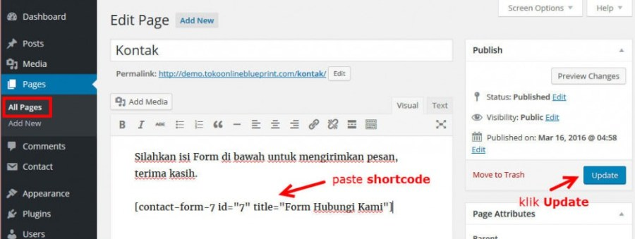 14-paste-shortcode-form