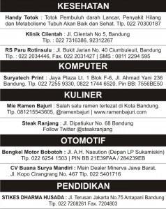 Iklan baris - Wikipedia bahasa Indonesia, ensiklopedia bebas
