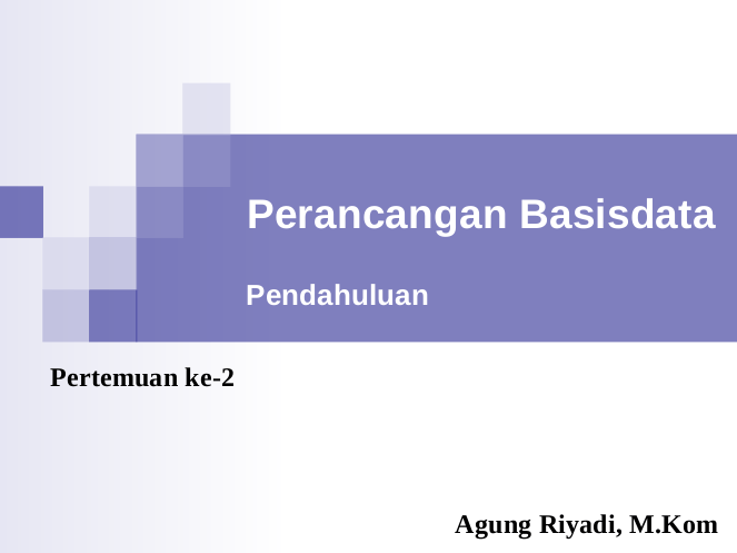 Belajar Database