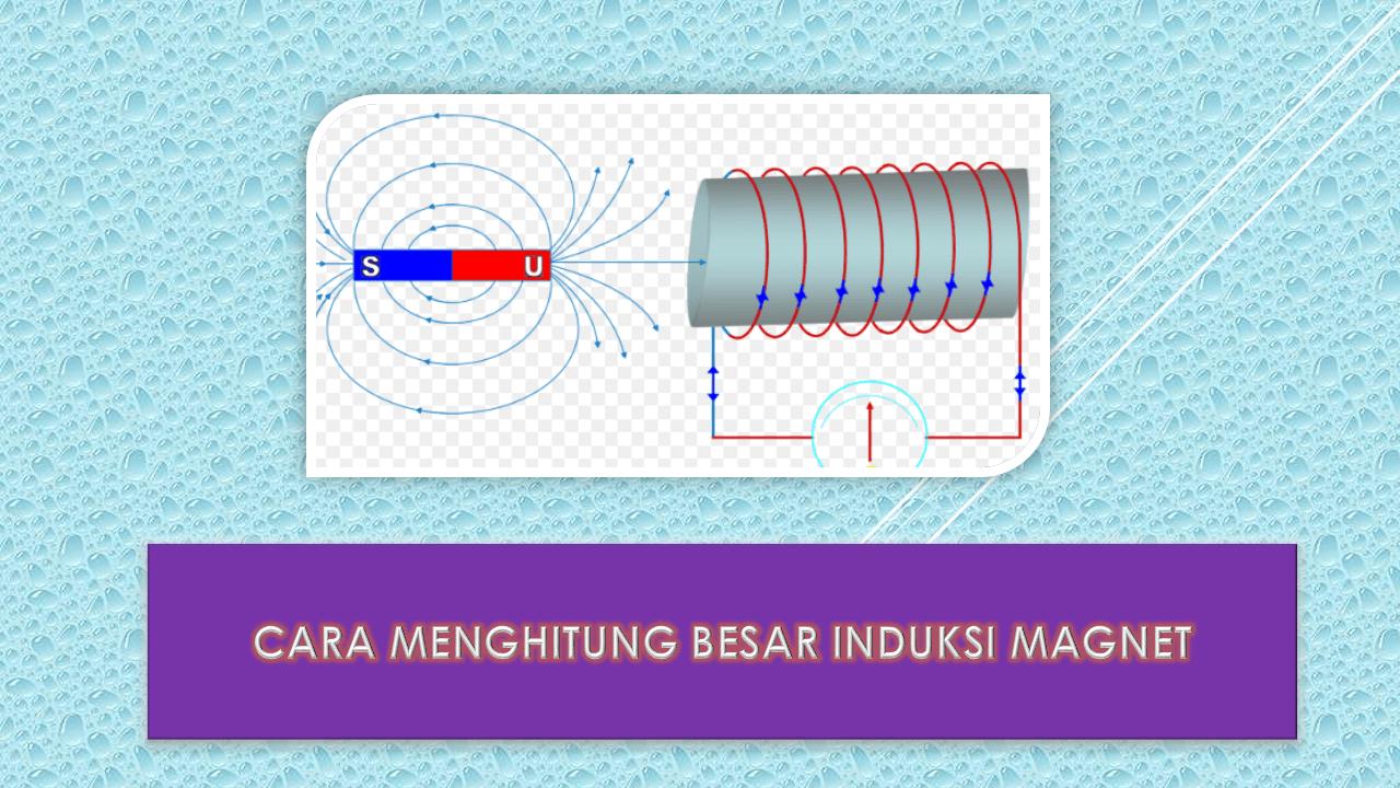 Cara Menghitung Besar Induksi Magnet