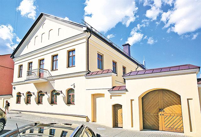 Реконструкция и реставрация здания № 14 по ул. Раковской в г. Минске