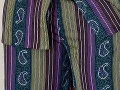 Joan set - Green stripe