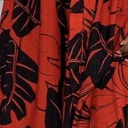 Luu Dress - Red Floral