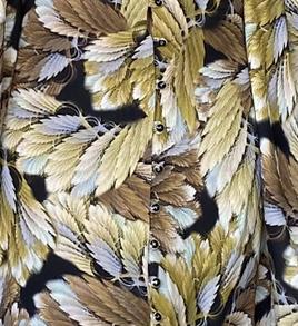 Esohe Dress - Brown floral
