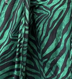 Meghan set - green and black