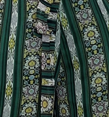 Kaka set - green stripe
