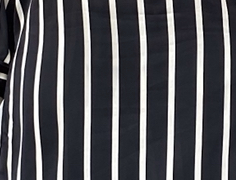 Wannie Set - Bold black stripes