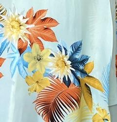 Preye Dress - Light Blue Floral
