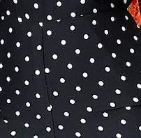 Leila Set - Black polka dot