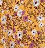 Aku Dress - Yellow floral