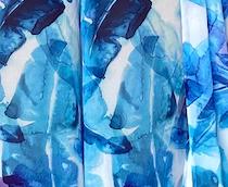 Barbz Set - White and Blue leaf