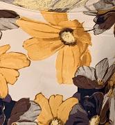 Bibi Dress - Yellow floral