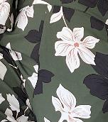 Diana Jumpsuit - Green Floral