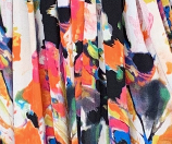 Freya Dress - Black multicolour floral