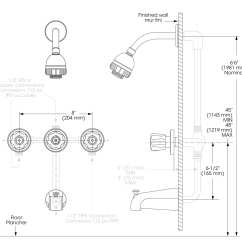 Shower Diverter Valve Diagram Honda Civic Alternator Installing Bathtub Ideas