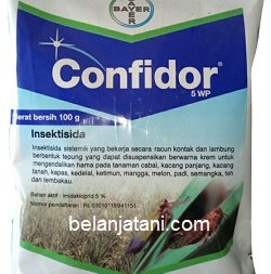 Confirdor, Confirdor WP, Confirdor 5 WP, Bayer, Bayer Crop Science, Bayer Indonesia, Jual Insektisida Confidor, Belanja Tani