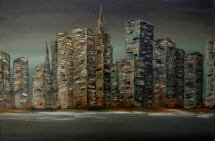 Big city, 40 x 60 cm