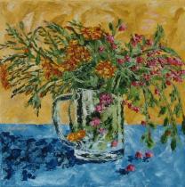 Bogyók a kertemből III, 40 x 40 cm, Magántulajdon
