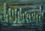 Szellemváros, 35 x 50 cm