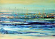 Jégen úszó vitorlák, 50 x 70 cm, Magántulajdon