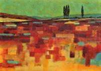 Földanya III, 70 x 100 cm, Magántulajdon