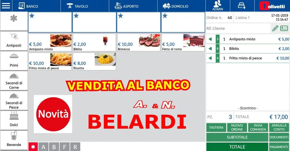 OFFERTA-STMAPANTE-FISCALE-TELEMATICA-OLIVETTI-PRT-80+POS-TABLET-TOUCHSCREEN-ANDROID-FUNZIONI-GESTIONE VENDITA AL BANCO