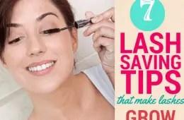 7 eyelash growth tips