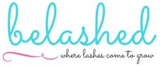 beLASHED logo