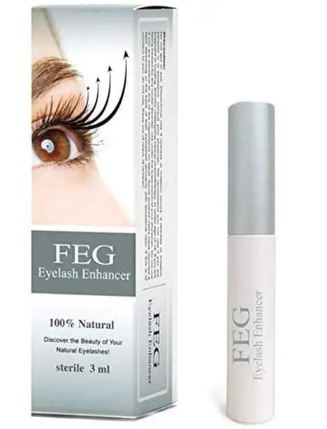 feg eyelash enhancer serum review
