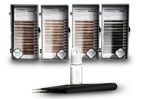 Eyebrow Extension Kit with Eyebrow Extension Glue Clear