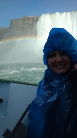 Subject to frequent rainbows.