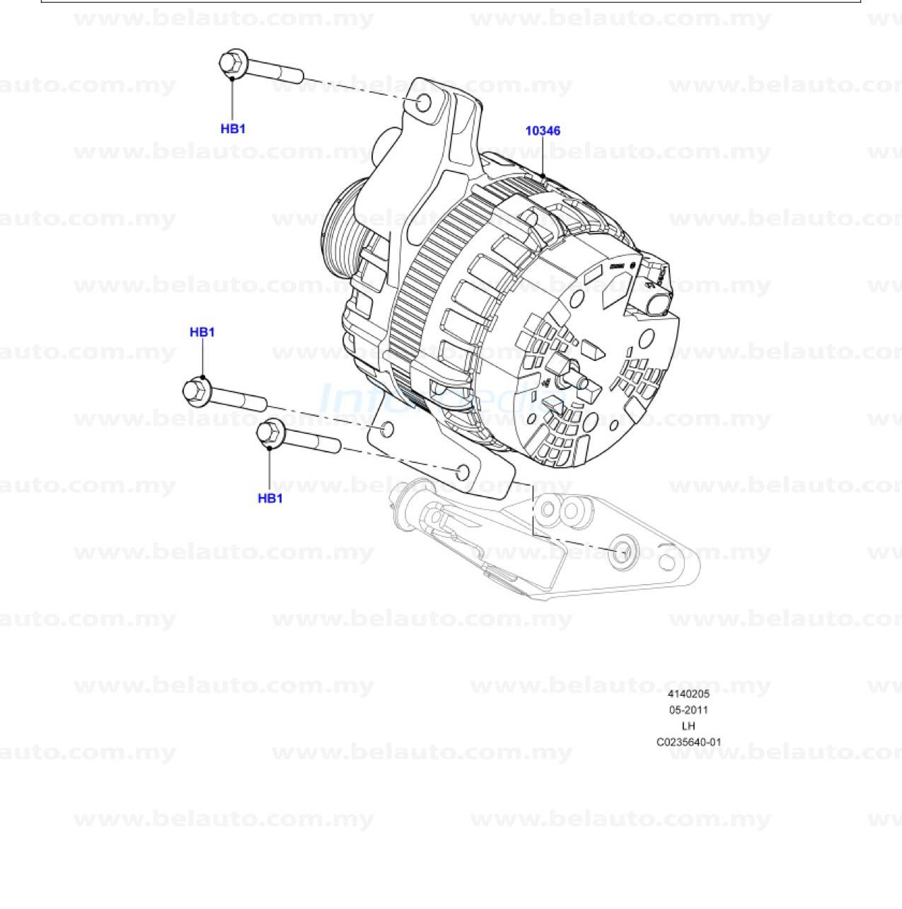 414 02 05a Land Rover Evoque Spare Part Malaysia 1