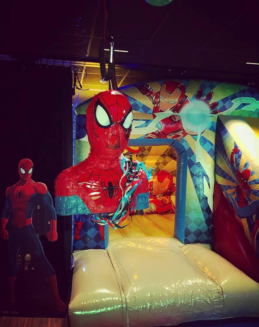 Belcat Monaco theme anniversaire Spiderman