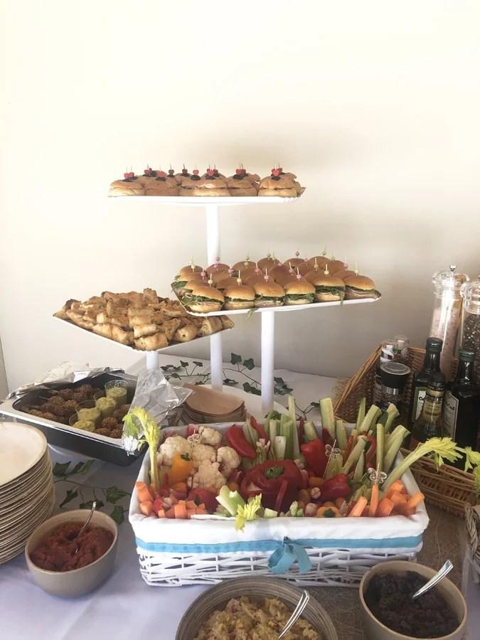 Organisation fêtes religieuses buffet