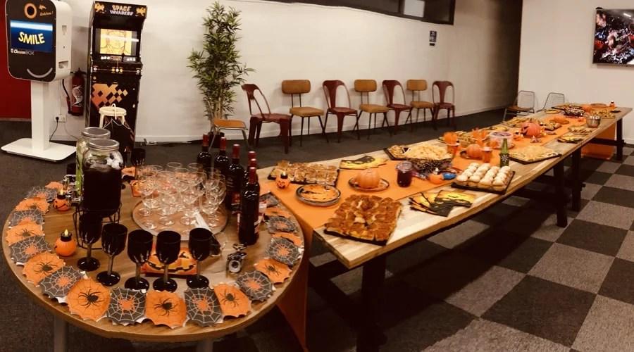 Halloween décoration bureaux Monaco
