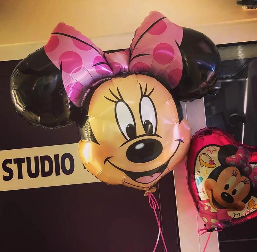 Thème anniversaire Minnie