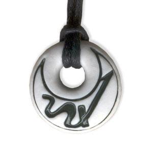 Sagittarius zodiac pendant by Belen Berganza