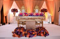 Sweetheart Table Floral | Wedding Decoration Ideas | Table ...