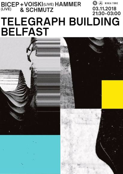 Bicep live show for Telegraph Building