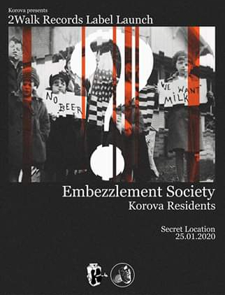 Embezzlement Society To Launch Record Label.
