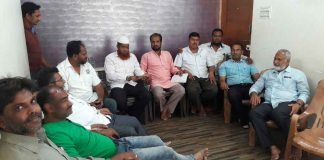 muslim samaj meeting abt water
