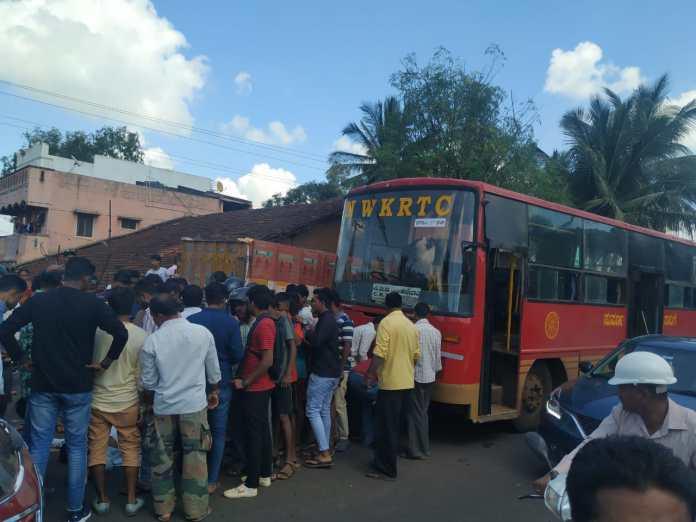 Road accident mutga