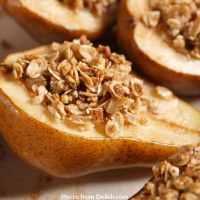 Heart-healthy Cinnamon-baked Pears