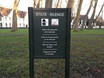 Stilte Silence