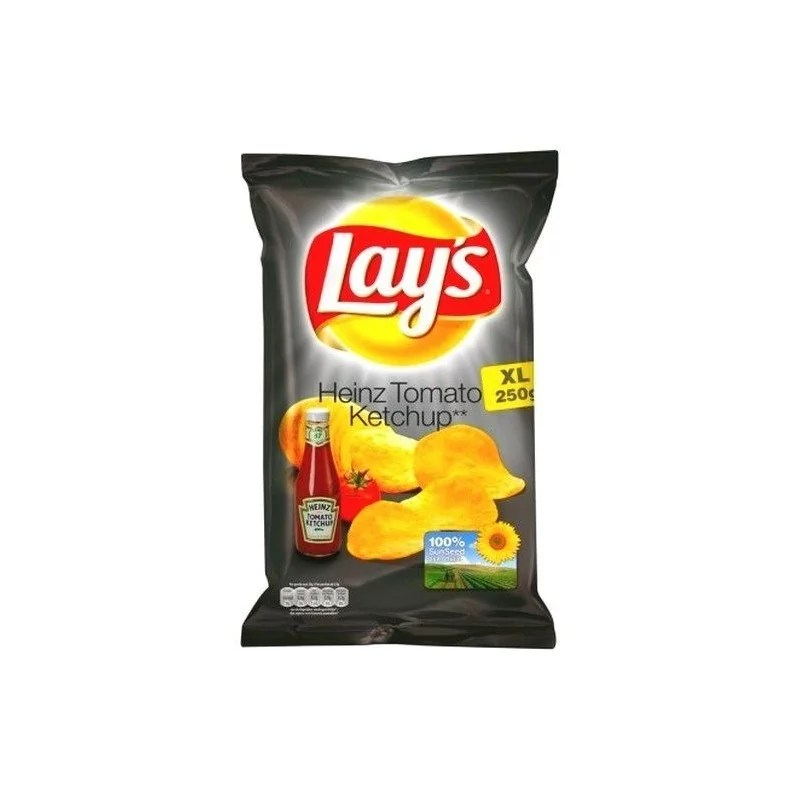 Lay's chips Heinz Tomato ketchup XL 275 gr BELGE CHOCKIES