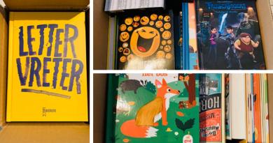 Baekens Books schenkt boekenpakket