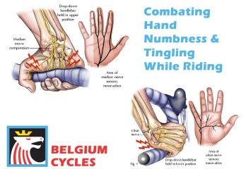 How to deal with numbness and tingling in the hands while riding your bike - Belgium Cycles